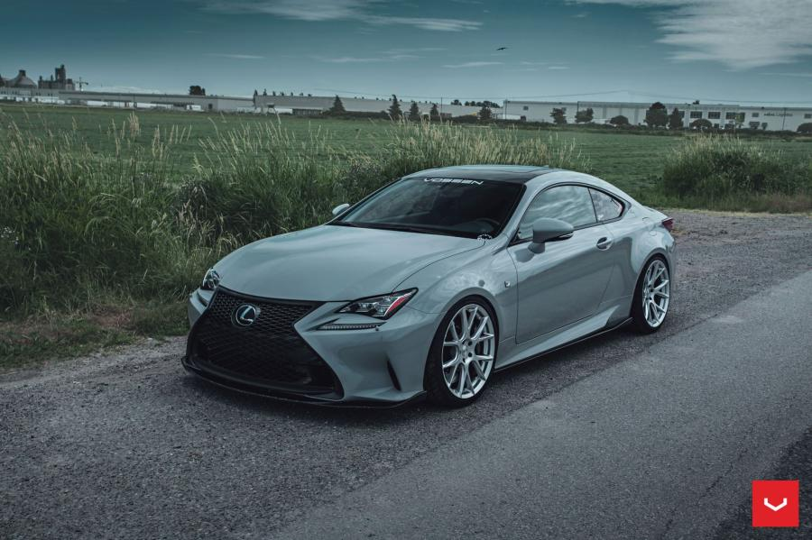 Lexus RC350 F-Sport on Vossen Wheels (VFS6)